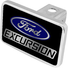 New Ford Excursion Blue Logo/Word Tow Hitch Cover Plug