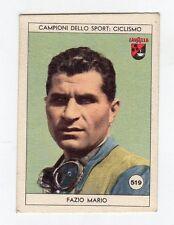 figurina LAVAZZA ANNO 1950/51 CALCIO NUMERO 519 FAZO MARIO NEW