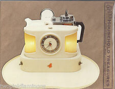 Retro Auto Teasmade Die Cut Days Gone By Blank Postcard w/Mailing Envelope NEW
