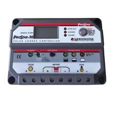 Morningstar Prostar PS-30M  Solar Battery Charge Controller PWM ,30 AMP 12/24 V