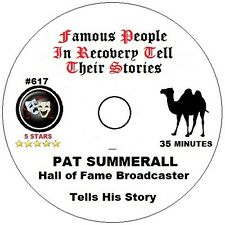 Alcoholics Anonymous AA Speaker CD - Famous Broadcaster Pat Summerall - His Talk