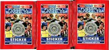Lot of 3 BOOSTERS TOPPS 5 STICKERS OFFIZIELLE BUNDESLIGA 2010/2011 GERMAN