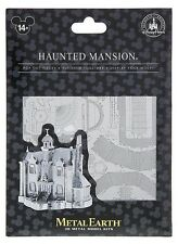NEW Disney Parks Metal Earth 3D Model Kit Haunted Mansion Disneyland Attraction