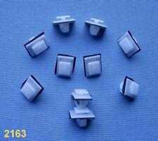 (2163) 10x Zierleistenklammern Clip Klip Zierleisten für Hyundai, Kia, weis