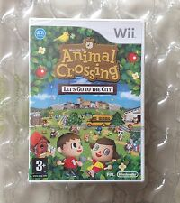 FACTORY SEALED ANIMAL CROSSING LETS GO TO THE CITY FOR WII / WII U NINTENDO