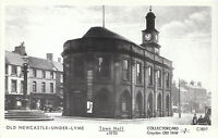 Old Newcastle-under-Lyme Postcard - Town Hall c1910 - Staffordshire   V2210