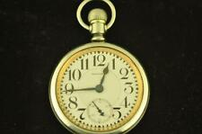 VINTAGE 16 SIZE WALTHAM RIVERSIDE 19J POCKET WATCH FROM 1926 RUNNING