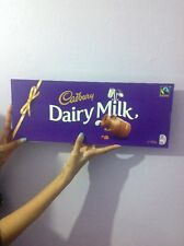 HUGE CADBURY DAIRY MILK CHOCOLATE BAR XMAS GIFT BIRTHDAY PARTY WEDDING 850g (UK)