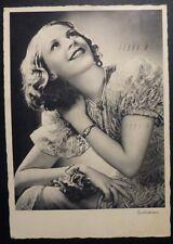 FOTO CARD - MISS ESITAZIONE - 1937