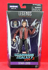 """Marvel Legends STAR-LORD Guardians of the Galaxy Vol. 2 6"""" Figure BAF TITUS New"""