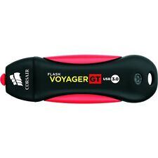 Corsair 64gb Flash Voyager Gt Usb 3.0 Flash Drive - 64 Gb - Red, Black - Water