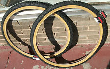 26x2.125 Studded Knobby old school BMX tires fits Schwinn King Sting Sidewinder