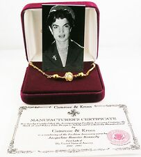 "Jackie Kennedy Faux Pearl Pendant Necklace  17""   Original Packaging"
