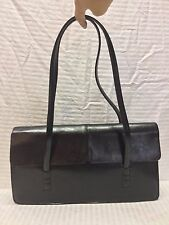 Alfani Black Leather Purse Bag Shoulder Bag