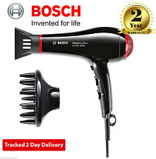 NEW Bosch  Professional Classic Coiffeur Hair Dryer 2500 Watt - BlackPHD7962GB