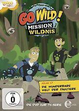 GO WILD!-MISSION WILDNIS-(17)TV SERIE-DIE WUNDERBARE WELT DER FAULTIERE DVD NEU