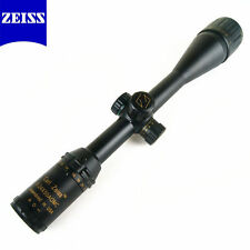 FREE SHIPPING Carl Zeiss Rifle scope 6-24x50 R&G illuminated with 11&20mm rings