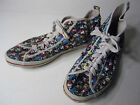 vtg Mickey Mouse Walt Disney Hightop Chuck Taylor 1970's canvas shoes sole 10