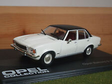 OPEL Rekord 2.1D 4 Door 1973 - 1977 in Cream / White 1/43rd Scale