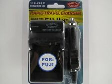 FUJI NP70/SAM IA-BH125C/PAN S005E/S007E/S008E DC68 Wall & Car Charger - Black
