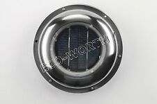Solar Powered Exhaust Roof Fan Vent Ventilation W/ Battery Caravan Camper Canopy