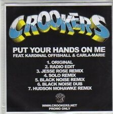 (CH595) Crookers, Put Your Hands On Me - DJ CD