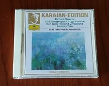 R.STRAUSS:TILL EULENSPIEGEL-DON JUAN-DEATH AND TRANSFIGURATION-KARAJAN-CD