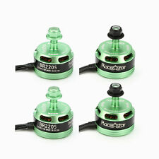 4X Racerstar Racing Edition BR2205 2300KV 2-4S Brushless Motor Green X220 FPV