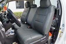 TOYOTA TUNDRA 2014 IGGEE S.LEATHER CUSTOM FIT SEAT COVER 13 COLORS AVAILABLE