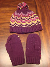 MISSONI TODDLER HAT AND MITTENS SET - BRAND NEW
