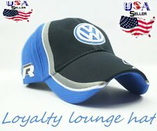 VW Volkswagen Logo Cap GTI R32 Golf R Beetle Jetta Emblem Embroidered Hat