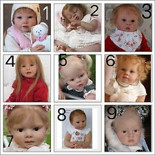 ❤️Custom Made Reborn Toddler❤️ Choices Of Kits. Girl Or Boy❤️Ready May