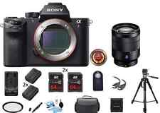 Sony Alpha a7R II Mirrorless Digital Camera (Body Only) PRO BUNDLE!! NEW