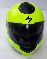 Scorpion Modular Full Face Helmet EXO 900 Motorcycle Neon Yellow Size XL
