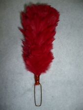 Black Watch / Royal Highlanders (Scottish) Red Feather Hackle