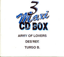 3 Maxi CD Box Army of Lovers Des´Ree Turbo B.