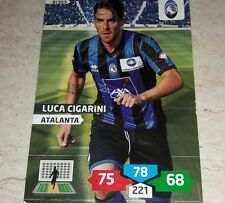 CARD ADRENALYN 2013/14 CALCIATORI PANINI ATALANTA CIGARINI CALCIO FOOTBALL