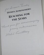 SIGNED BOOK Women Astronomers Reaching for the Stars Discovering in Science