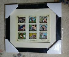 VHTF Disney 9 Pin Framed Set Picture the Moment Mickey's Festival of Dreams LE