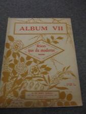 Rien que du moderne 8 morceaux de salon pour le piano Album VII