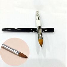 Women Pro No.10 Detachable Nail Art Acrylic Kolinsky Sable Brush Nail Art Brush