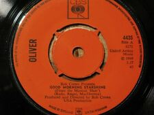 ++OLIVER good morning starshine/can't you see SP 1969 UK CBS VG++