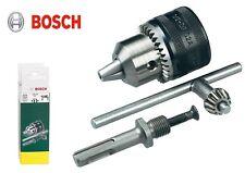 Bosch SDS-plus Adapter auf Zahnkranzbohrfutter 13mm mit Schlüssel