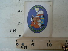 STICKER,DECAL DONALD DUCK ENERGIE ZUINIG ERMEE 1980 NOT 100 % OK