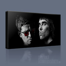 NOEL GALLAGHER IAN BROWN ICONIC CANVAS PRINT PICTURE AWilliams UPGRADE 120x56cm