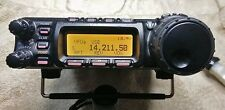 Yaesu FT-857D HF/VHF/UHF ham radio + MH59 DTMF Mic & MARS Mod- Great Condition!