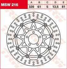 TRW/ Lucas Bremsscheibe vorn mit ABE für Kawasaki ZX9-R ZX9R 02-03