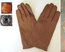 WWII ORIGINAL GERMAN WEHRMACHT OFFICERS LEATHER GLOVES REAL NAPPA RARE