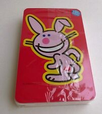 HAPPY BUNNY 52 DIFFERENT IMAGES AND NEW PLAYING CARDS!