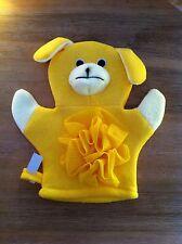 Waschhandschuh Waschlappen Baby Kinder Handpuppe Hund